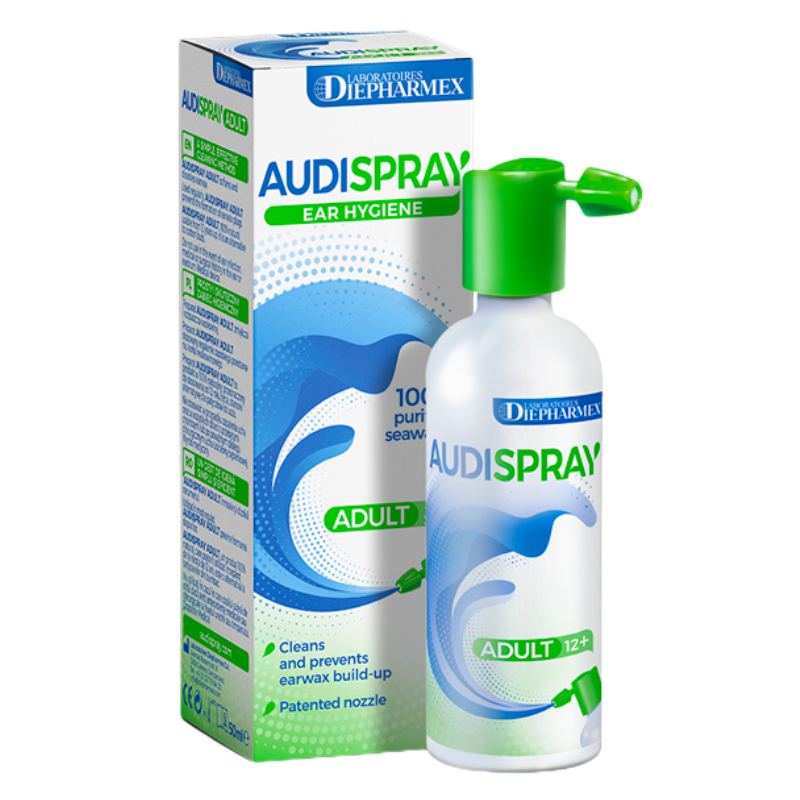 Spray detergente auricolare Audispray